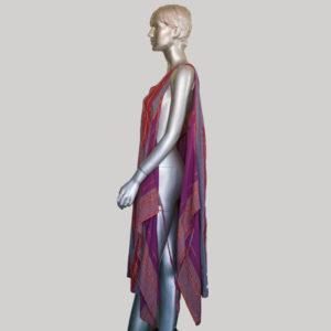 Women's garments Hand loom wrapper dress