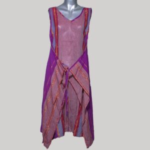 Women's garments Hand loom wrapper dress